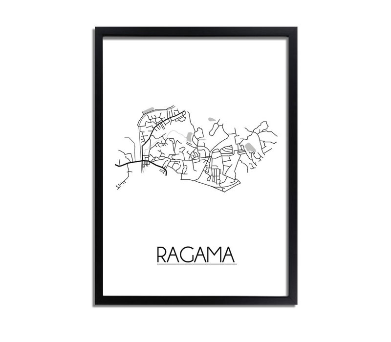 Ragama Plattegrond poster