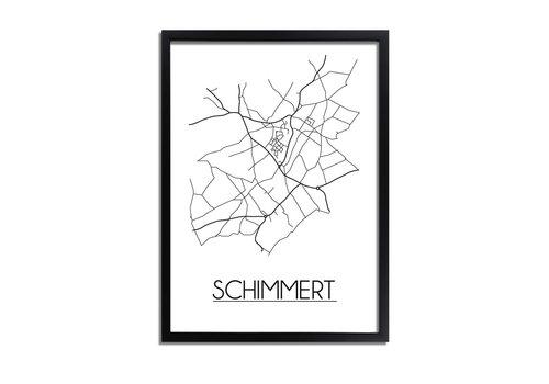 DesignClaud Schimmert Plattegrond poster
