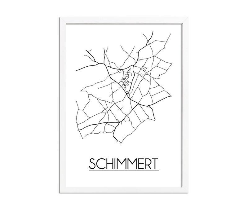 Schimmert Plattegrond poster