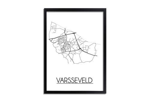 DesignClaud Varsseveld Plattegrond poster