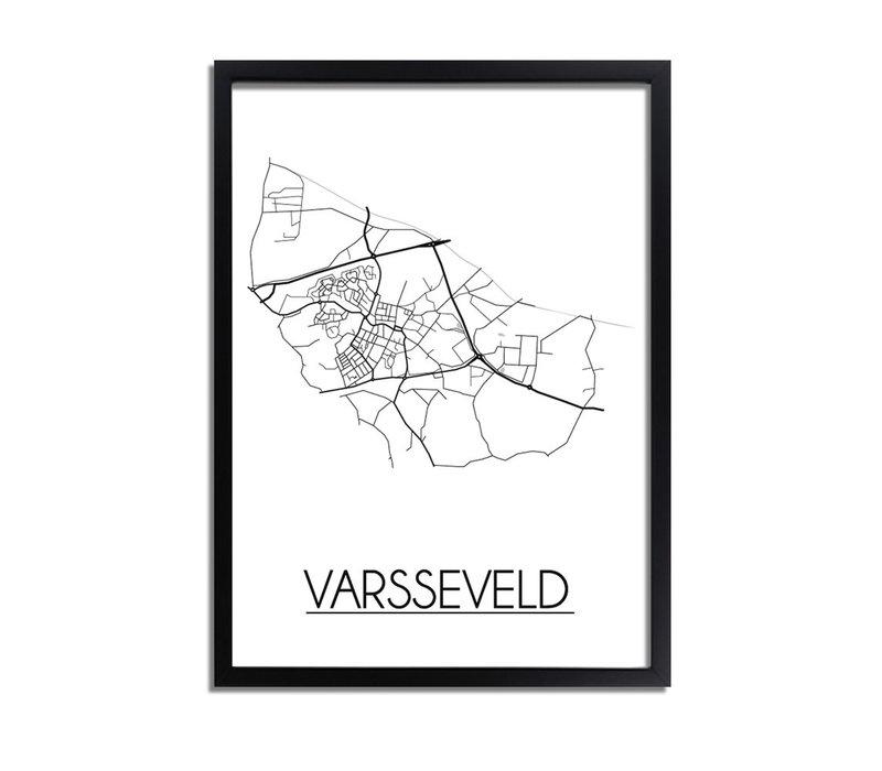 Varsseveld Plattegrond poster