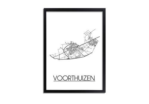DesignClaud Voorthuizen Plattegrond poster