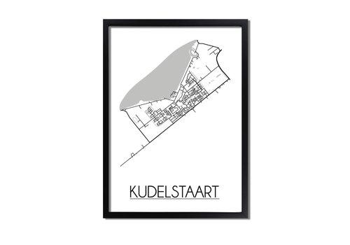 DesignClaud Kudelstaart Plattegrond poster