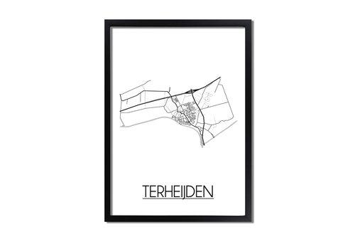DesignClaud Terheijden Plattegrond poster