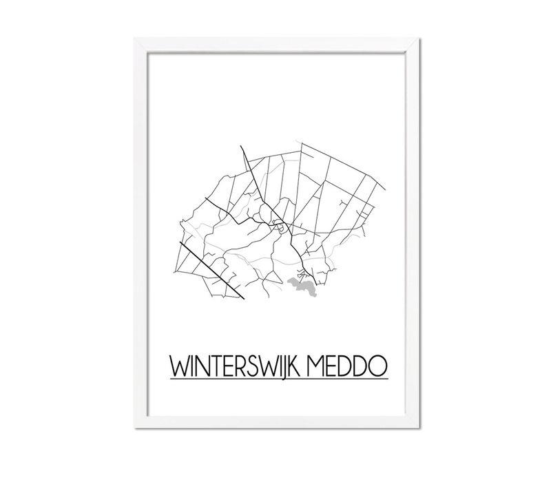 Winterswijk Meddo Plattegrond poster