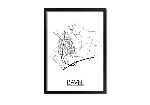 DesignClaud Bavel Plattegrond poster