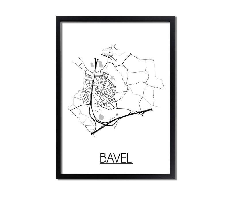 Bavel Plattegrond poster