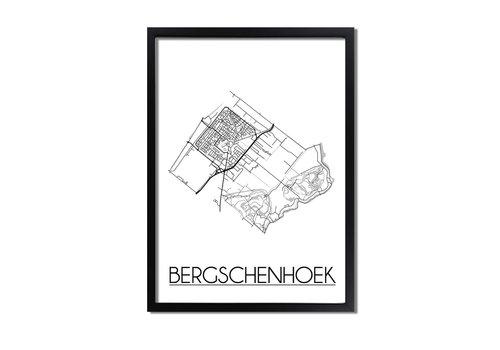 DesignClaud Bergschenhoek Plattegrond poster