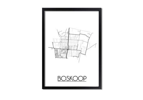DesignClaud Boskoop Plattegrond poster