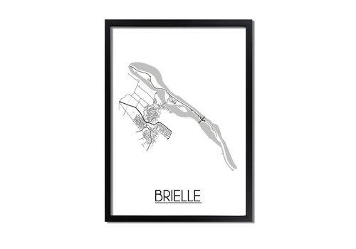 DesignClaud Brielle Plattegrond poster