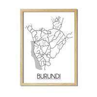 Burundi Plattegrond poste