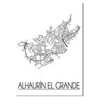 Alhaurin el Grande Plattegrond poster