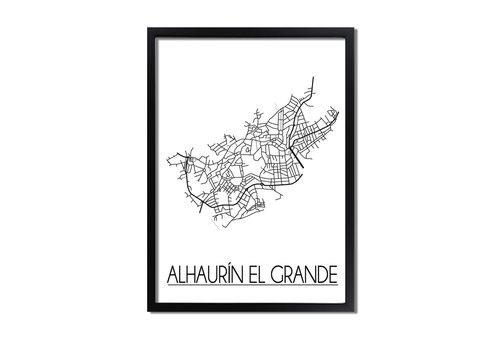 DesignClaud Alhaurin el Grande Plattegrond poster
