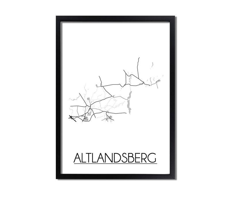 Altlandsberg Plattegrond poster