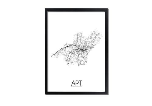 DesignClaud Apt Plattegrond poster