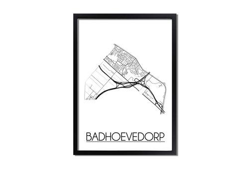 DesignClaud Badhoevedorp Plattegrond poster