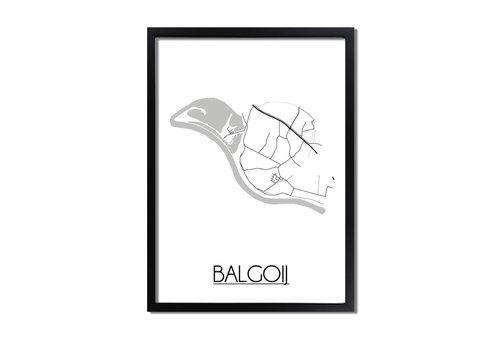 DesignClaud Balgoij Plattegrond poster
