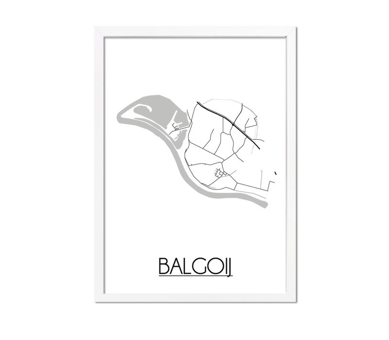 Balgoij Plattegrond poster