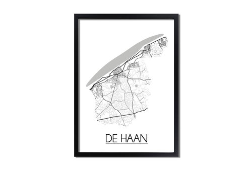 DesignClaud De Haan Plattegrond poster
