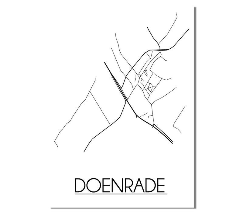 Doenrade Plattegrond poster