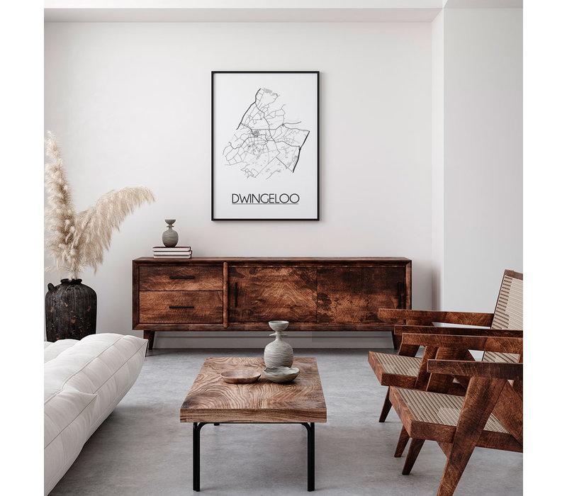 Dwingeloo Plattegrond poster