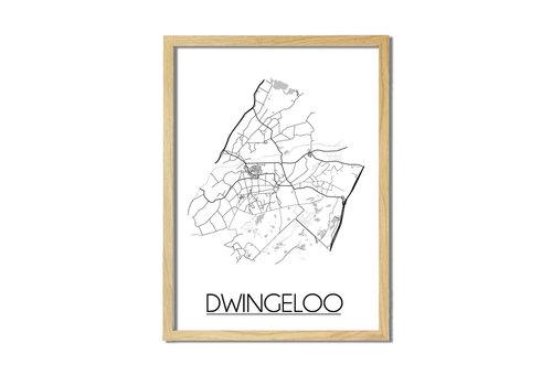DesignClaud Dwingeloo Plattegrond poster