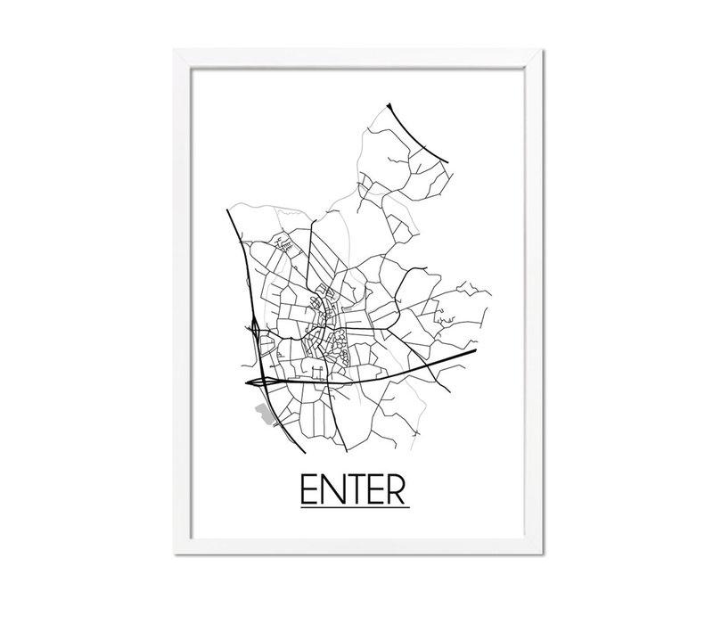 Enter Plattegrond poster