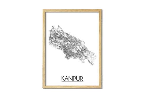 DesignClaud Kanpur Plattegrond poster