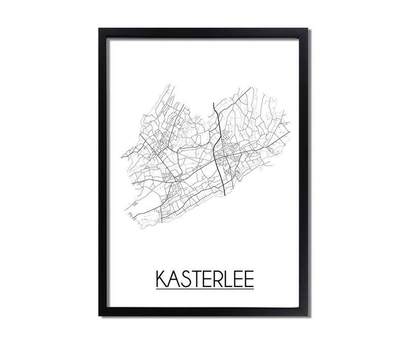Kasterlee Plattegrond poster