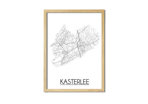 DesignClaud Kasterlee Plattegrond poster