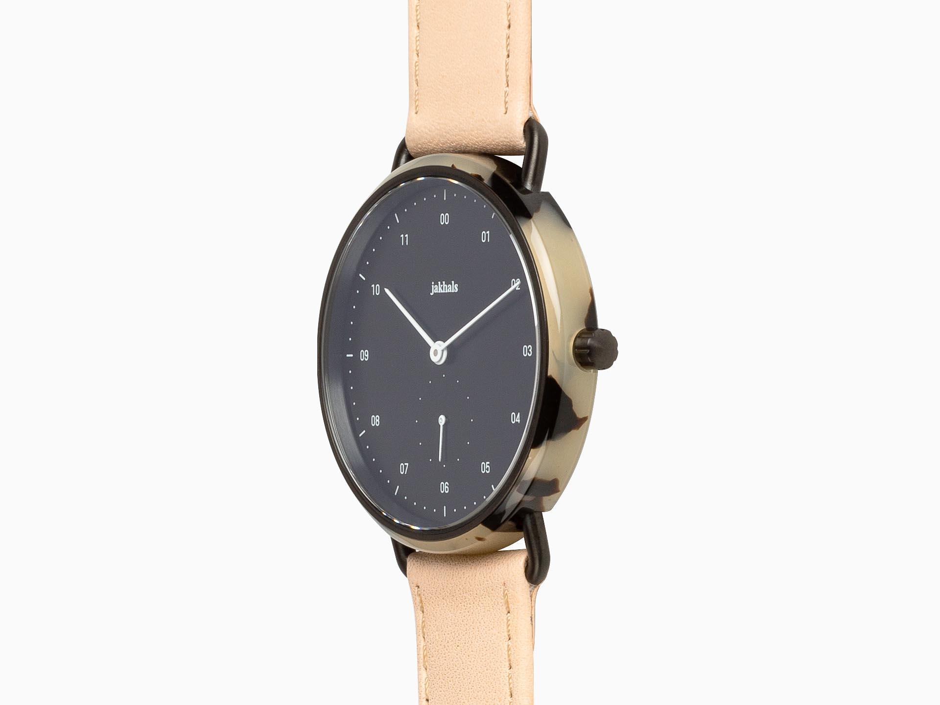 havana black — natural leather (side)