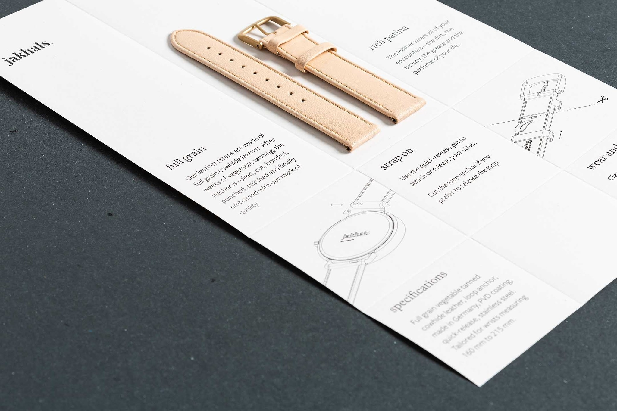 Our watches are wrapped in a beautiful recycled paper
