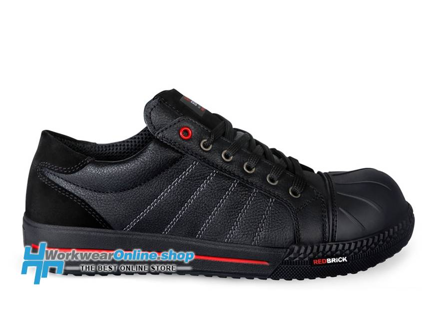 RedBrick Safety Sneakers Redbrick Ruby Toe cap Black S3
