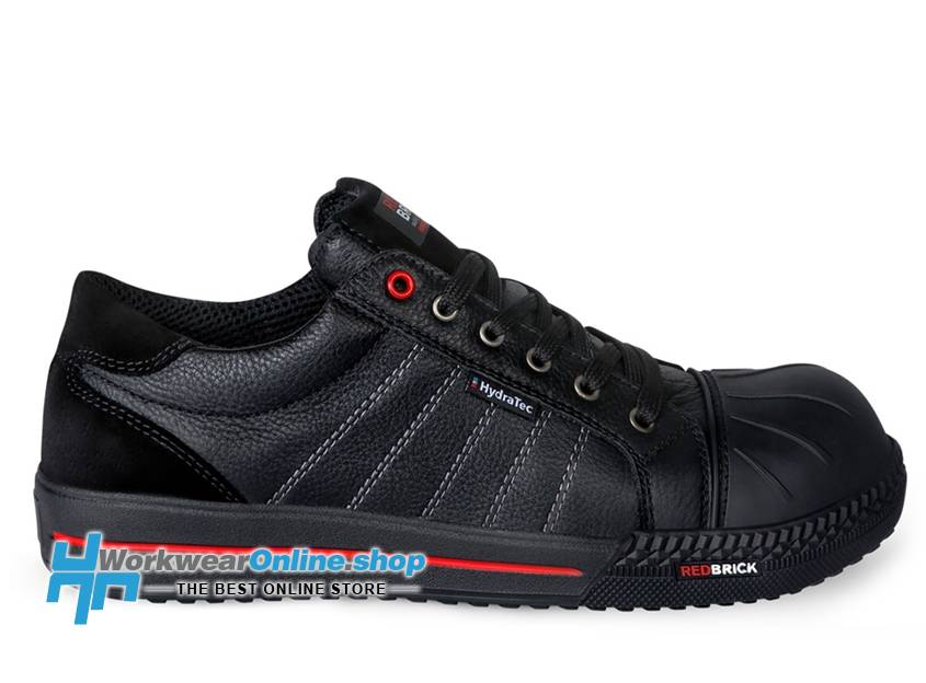 RedBrick Safety Sneakers Ladrillo Rojo Ruby Hydratec S3 Negro