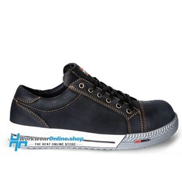 RedBrick Safety Sneakers Ladrillo rojo bronce negro