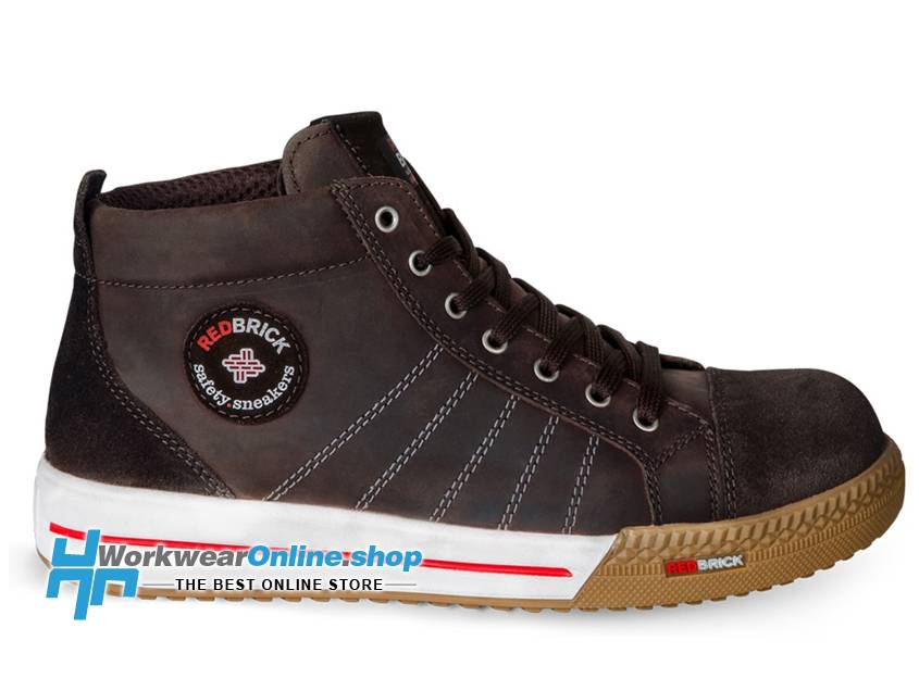 RedBrick Safety Sneakers Redbrick Emerald Brown S3