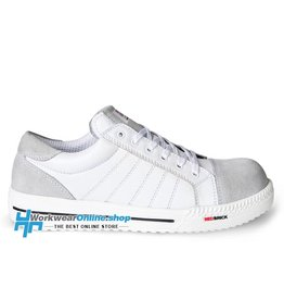 RedBrick Safety Sneakers Ladrillo rojo branco s3