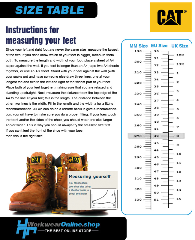 Caterpillar Safety Shoes Caterpillar Bearing