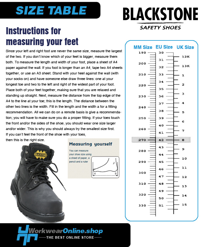 Blackstone Safety Shoes Blackstone 620