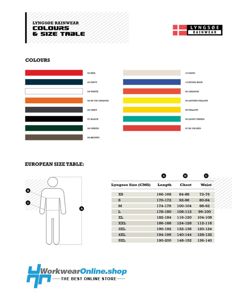 Lyngsoe Rainwear Ropa impermeable Lyngsoe LR91
