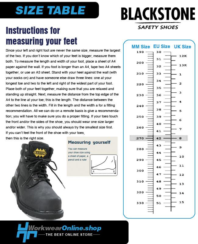 Blackstone Safety Shoes Blackstone 555 Grey