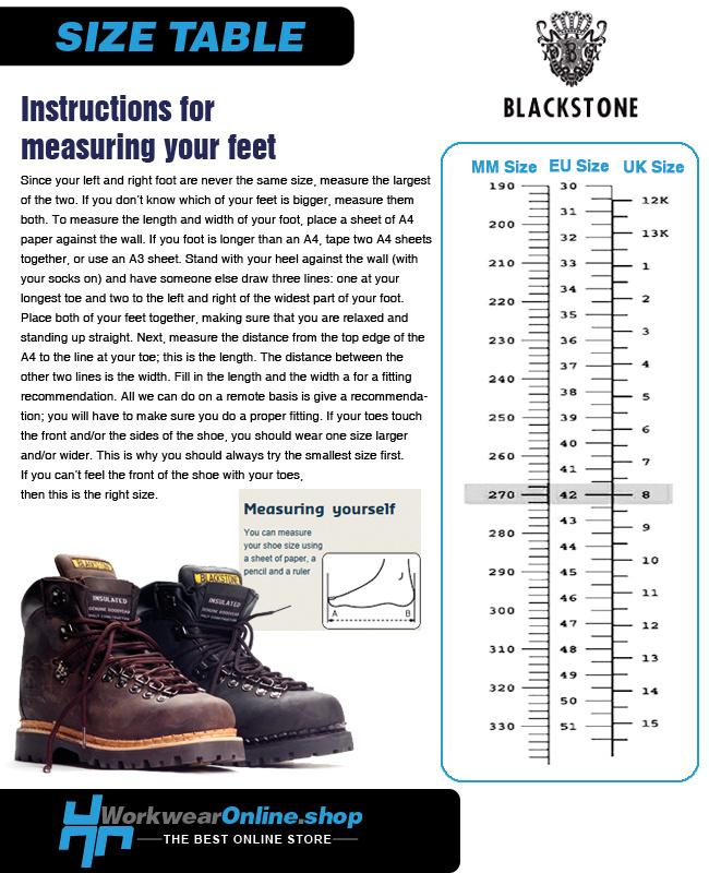 Blackstone Footwear Blackstone 439 Black