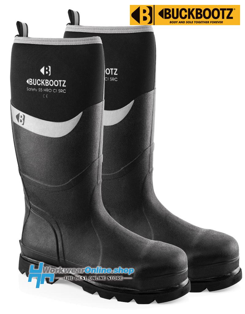 Buckbootz Safety Boots Buckbootz BBZ6000BK