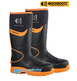 Buckbootz Safety Boots Buckbootz BBZ8000 BK / OR