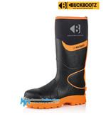 Buckbootz Safety Boots Buckbootz BBZ8000 Zwart/Oranje
