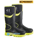 Buckbootz Safety Boots Buckbootz BBZ8000 Noir / Jaune