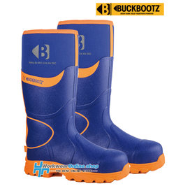 Buckbootz Safety Boots Buckbootz BBZ8000 BL / OR
