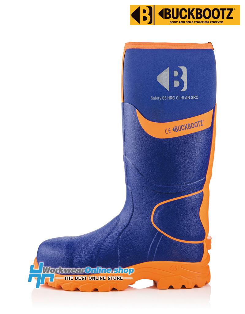 Buckbootz Safety Boots Buckbootz BBZ8000 Blauw/Oranje