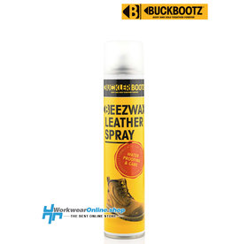 Buckler Safety Shoes Spray De Cuero Beezwax Buckler