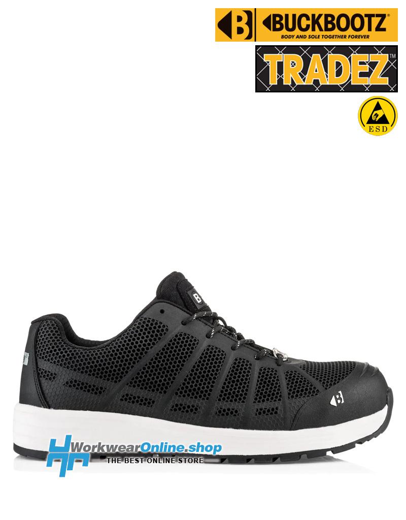 Buckler Safety Shoes Buckler Tradez KEZ noir
